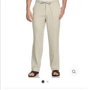 Cubavera Linen Drawstring Pants